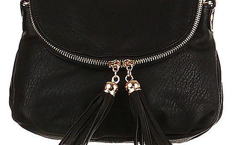 Dámská mini kabelka přes rameno černá