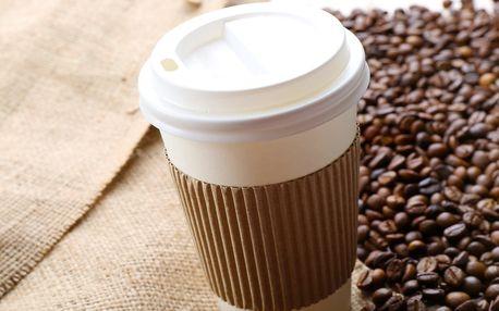 Čerstvě upražená káva dle výběru do kelímku s sebou
