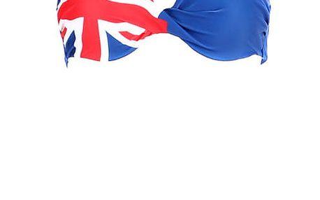 Dámské dvoudílné plavky - modré modrá