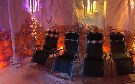 Slaný dýchanek: 1 či 12 vstupů do solné jeskyně