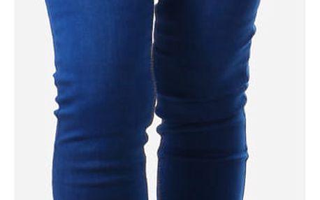 Dámské tmavě modré džíny modrá