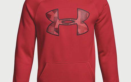 Mikina Under Armour Af Big Logo Hoody Červená