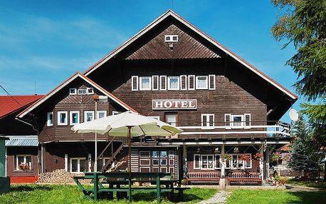 3–6denní pobyt se snídaní pro 2 v hotelu U Červené lišky v Krušných horách
