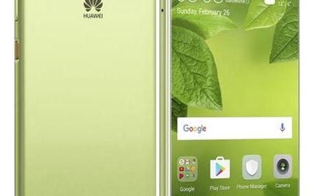 Mobilní telefon Huawei P10 Dual SIM (SP-P10DSZOM) zelený Huawei flexibilní stativ + DOPRAVA ZDARMA