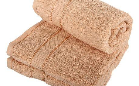 Froté ručník se vzorem Menheten modrozelená