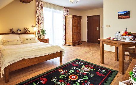 Jarní pobyt pod polskými Tatrami v Zakopaném v penzionu s vyhlášenou kuchyní