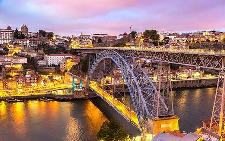 Portugalsko a Španělsko - putování autobusem se snídaní a průvodcem