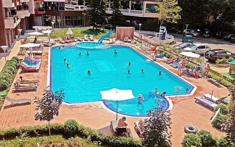 Bulharsko - Slunečné pobřeží, apartmány pro 2 - 5 osob, autobusem