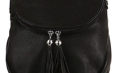 Malá kabelka se střapci černá