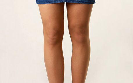 Dámská džínová mini sukně modrá