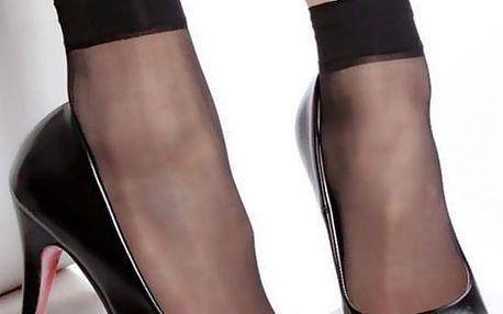 Dámské silonkové ponožky černá