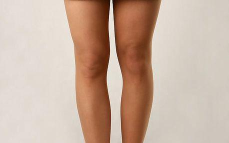 Dámská džínová sukně s aplikací modrá
