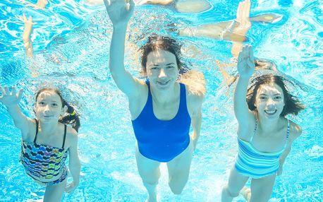 3 hodiny vodních radovánek v Aquaparku Vyškov