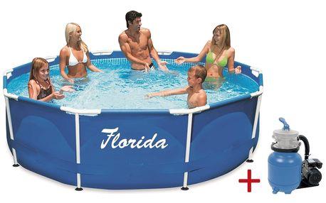 Marimex | Bazén Florida 3,05x0,91 m. s pískovou filtrací Prostar 3 | 19900061