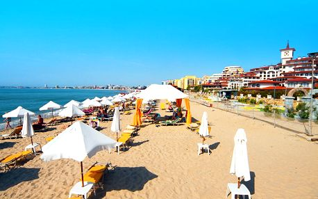 Bulharsko - Slunečné pobřeží, Hotel TIA MARIA***, 300m od pláže, polopenze nebo all-inclusive, autobusem