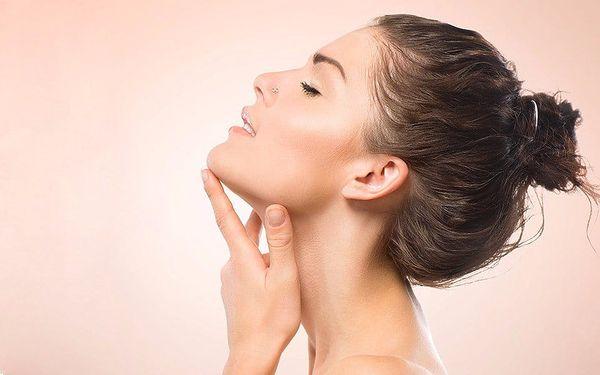 Kosmetické ošetření pro zářivou pleť včetně masáže