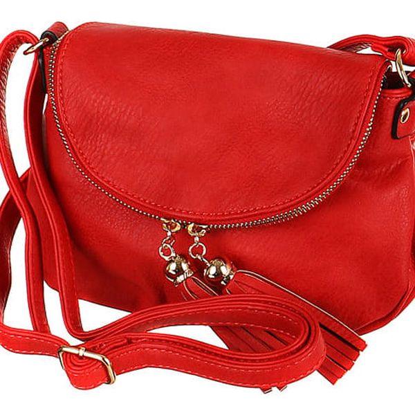 Dámská mini kabelka přes rameno béžová2
