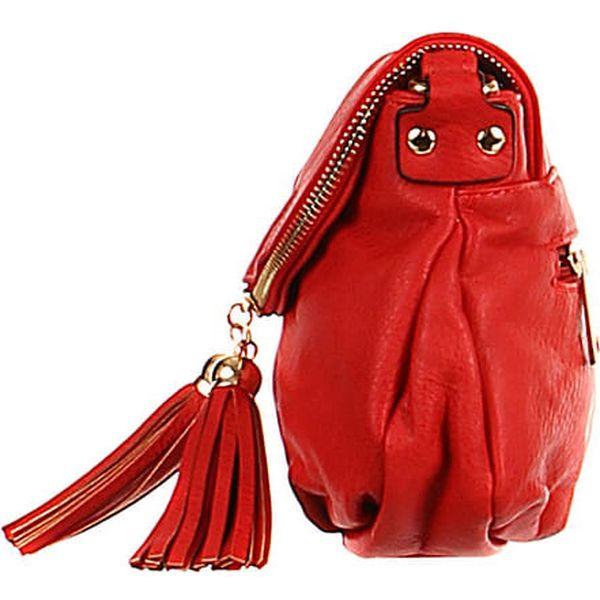 Dámská mini kabelka přes rameno béžová3