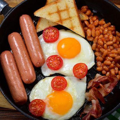 Vydatná anglická snídaně či brunch i pro dva