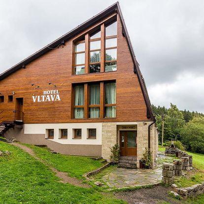 Hotel Vltava v Krkonoších pro 2 + 2 děti do 15 let zdarma