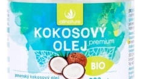 Allnature Premium Bio Coconut Oil 200 ml přípravek pro zdraví unisex