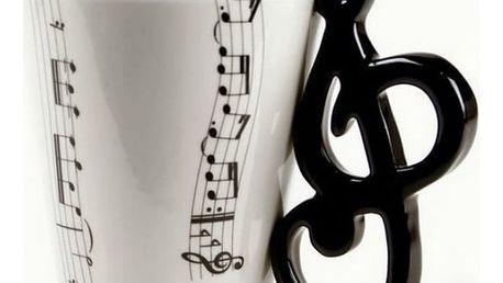 Hrnečky s hudebními motivy