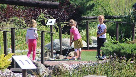 Minigolf pro dva nebo celou rodinu v Modřanech