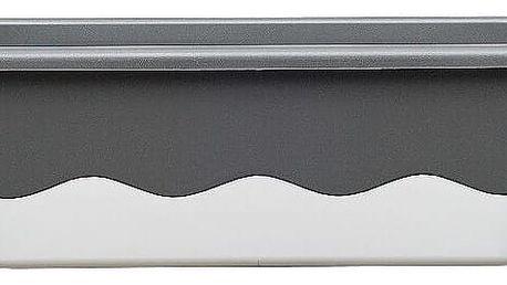Samozavlažovací truhlík MARETA 80 antracit tm. + bílá