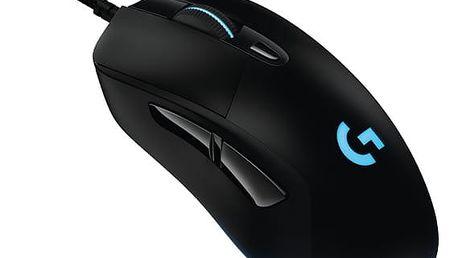 Myš Logitech Gaming G403 Prodigy černá (/ optická / 6 tlačítek / 12000dpi) (910-004824)