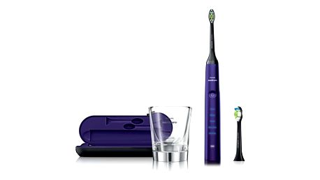 Zubní kartáček Philips Sonicare DiamondClean HX9372/04 fialový