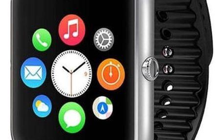 Chytré hodinky IMMAX SW6 SIM stříbrné (09007)