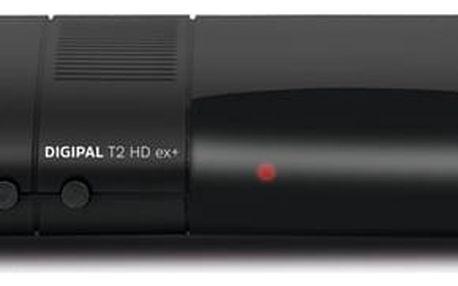 DVB-T2 přijímač Technisat DIGIPAL T2 HD ex+ černý (0010/4930)