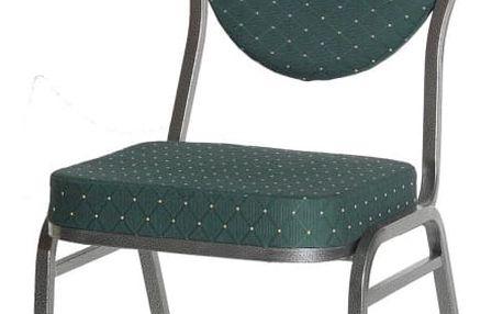 Chairy MONZA 1485 Kvalitní kovová židle - zelená