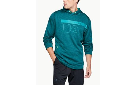 Mikina Under Armour Tech Terry Po Graphic Hoodie Zelená