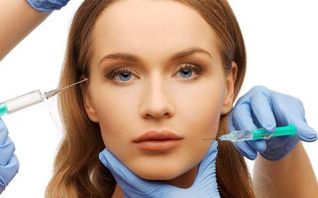 60min. kosmetické ošetření kyselinou hyaluronovou