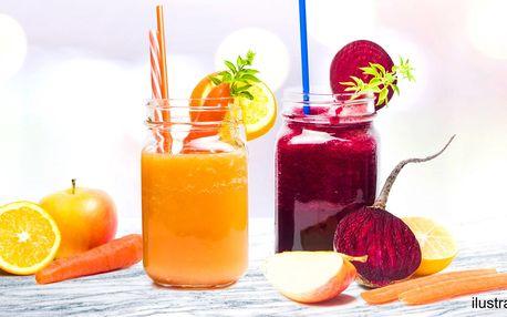 Fresh juice: nakopněte se čerstvou šťávou