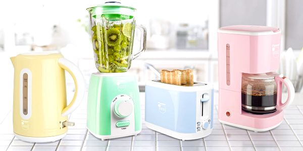 Designové spotřebiče Bestron v pastelových barvách