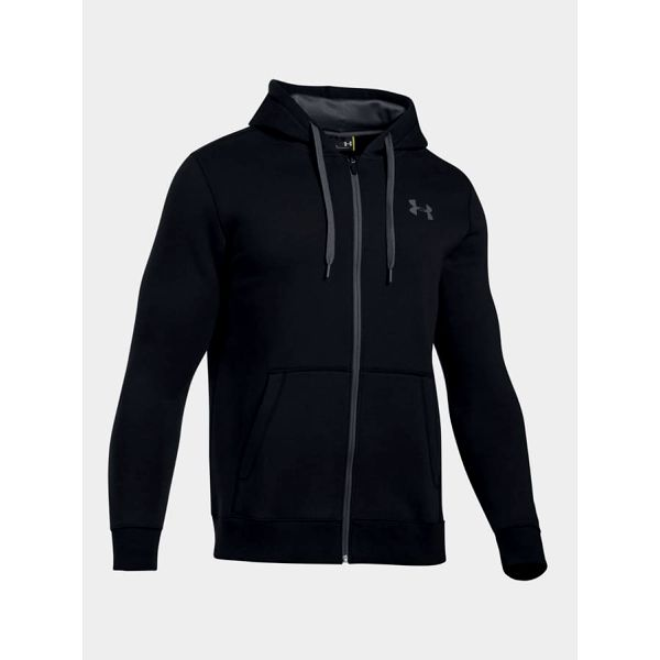 Mikina Under Armour Rival Fitted Full Zip Černá