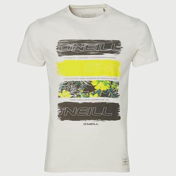 Tričko O´Neill Lm Photo Filler T-Shirt Bílá