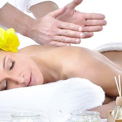 50minutová relaxační masáž dle výběru