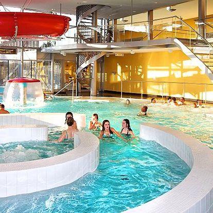 3 hodiny plavání i relaxu v Aquaparku Kuřim