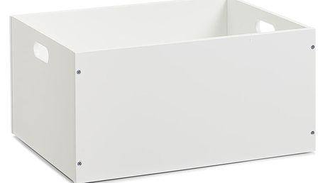 Kontejner pro uchovávání, barva bílá, 40x30x20 cm, ZELLER ZELLER