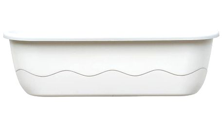 Samozavlažovací truhlík MARETA 60 bílá
