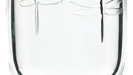Skleněný pohár La Rochère Libellules, objem 280ml