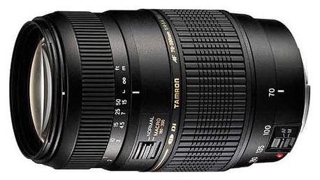 Objektiv Tamron AF 70-300mm F/4-5.6 Di LD Macro 1:2 pro Nikon černý (A17 N II)