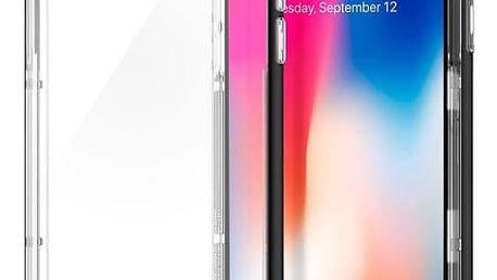 Kryt na mobil Spigen Crystal Hybrid Apple iPhone X černý (HOUAPIPXSPBK1)