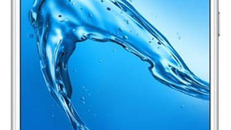 Mobilní telefon Huawei Y7 Dual SIM (SP-Y7DSSOM) stříbrný Nabíječka do auta Huawei - kovová (zdarma) + Software F-Secure SAFE, 3 zařízení / 6 měsíců v hodnotě 979 Kč + DOPRAVA ZDARMA