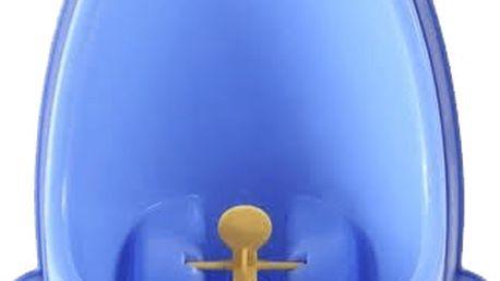 BABY YUGA Dětský pisoár žába – modrý