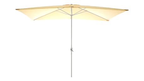 Garthen 6305 Zahradní slunečník - obdélníkový 2x3 m - champagne