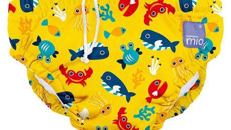 BAMBINO MIO Kalhotková koupací plena Deep Sea Yellow vel.XL (12-15kg)